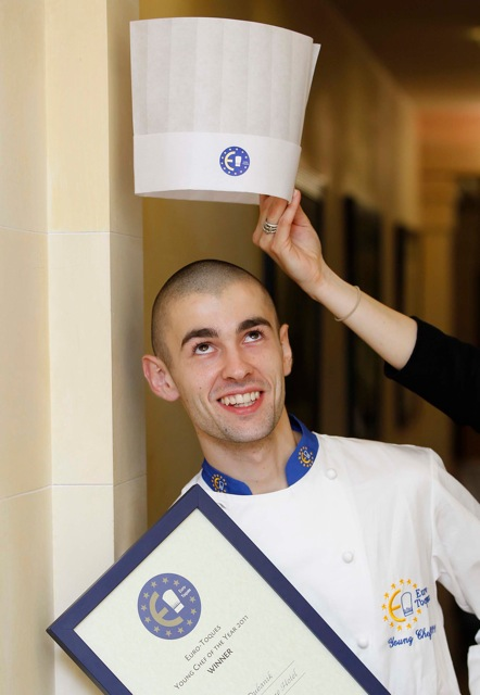 2011 Young Chef of the Year, Kamil Dubanik